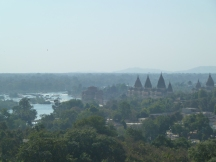 Le joli village d'Orchha, au Madhya Pradesh